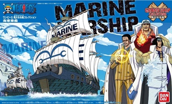 ONE PICE: Grans ship Marine Ship