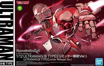 Ultraman tipo B, kit plástico escala 1/12.