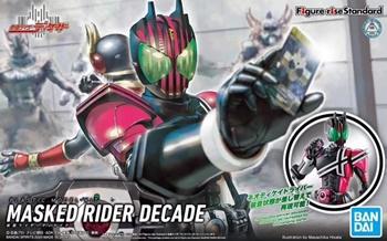 Masked rider decade, kit plástico.