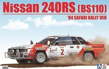 Nissan 240RS BS110 1984 Safari Rally.