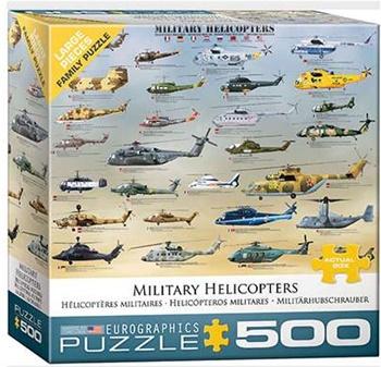 Helicópteros militares, 500 unidades.