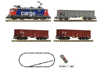 Set digital z21 start con una locomotora eléctrica Re 420 y un tren de