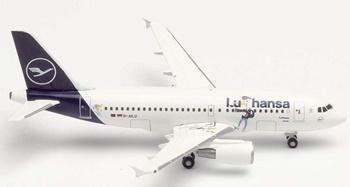 Airbus A319 Lu & Cosmo D-AILU Verden.
