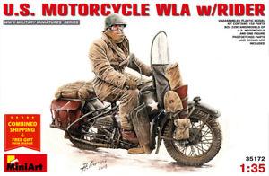U.S. Motorcycle WLA, escala 1/35.