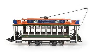 Tranvía de Buenos Aires, kit para montar escala 1/24.
