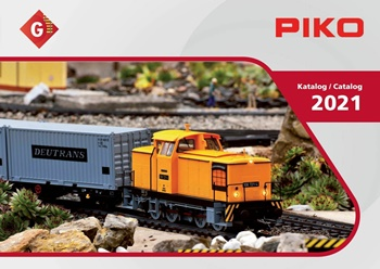 Catálogo PIKO 2021 escala G.