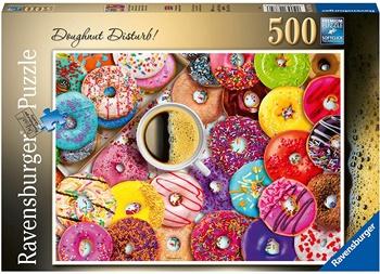 Donuts a colores, puzzle de 500 piezas.