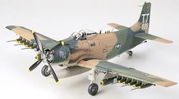 Douglas A-1J Sky-Raider U.S. Air Force.