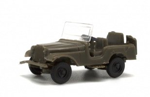 Jeep Willys militar.