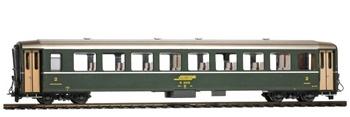 Coche pasajeros RhB B 2371 color verde.