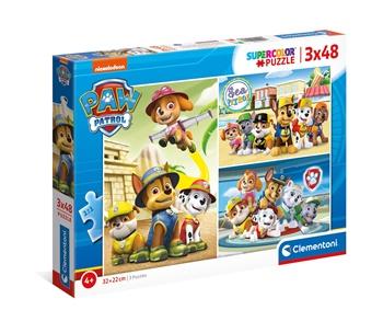 Patrulla Canina, 3 puzzles de 48 piezas.
