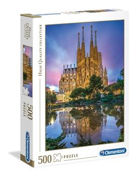 Sagrada Familia, puzzle de 500 piezas.