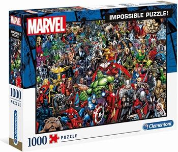 MARVEL Impossible puzzle, 1000 piezas.