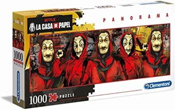 La Casa de Papel, 1000 piezas panorámico.