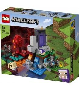 MINECRAFT: El portal en ruinas.