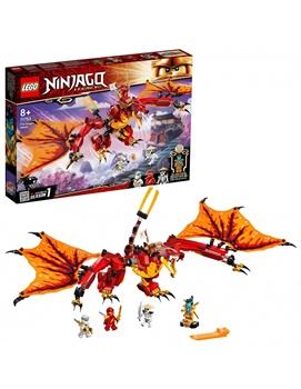 NINJAGO Ataque del dragon de fuego.