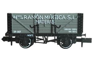 Set de dos vagones mercancías RAMÓN MÚJICA.