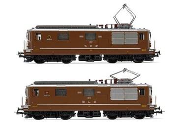 Set de dos locomotoras eléctrica SEZ/BLS. Digital con Sonido.