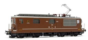 Locomotora eléctrica BLS 195 Re 4/4 Unterseen, época V.