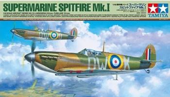 Supermarine Spitfire Mk. I, escala 1/48.