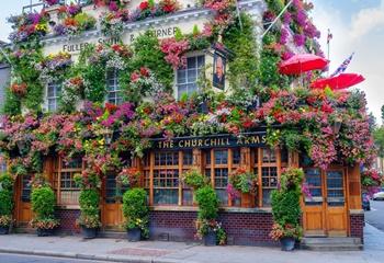 Pub de Londres, puzle de 75 piezas.