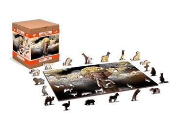 Sueños de elefantes, puzle de 75 piezas.