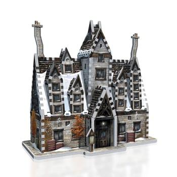 Harry Potter Las tres escobas, puzzle 3D.