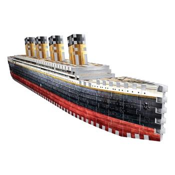 Titanic, puzzle 3D.