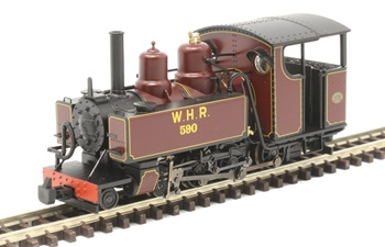 Locomotora de vapor clase 10-12D 590 WELSH HIGHLAND RAILWAY. Digital c
