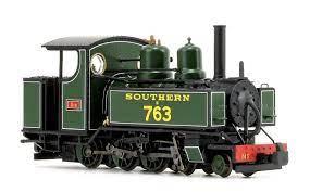 Locomotora de vapor BALDWIN clase 10-12 D E763 SOUTHERN LINE, color ve