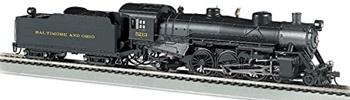 Locomotora de vapor 4-6-2 USRA #5213 BALTIMORE & OHIO. Digital con Son