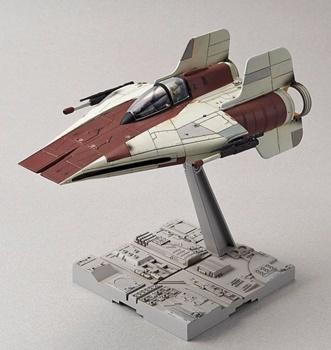 A-Wing Starfighter, kit de plástico escala 1/72.