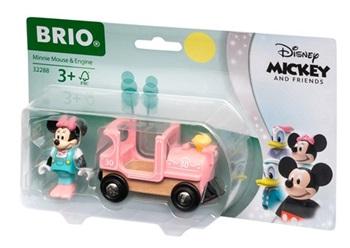 Locomotora de vapor Minnie Mouse.