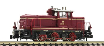 Locomotora Diesel serie 260 DB, época IV. Escala N.