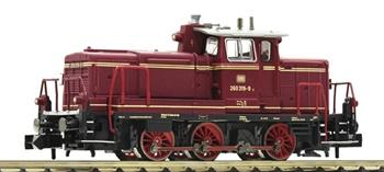 Locomotora Diésel clase 260 DB, época IV.