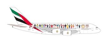 Airbus A380-800, escala 1/500.