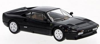 Ferrari 288 GTO color negro.