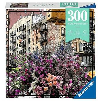 Flores en New York, 300 piezas.