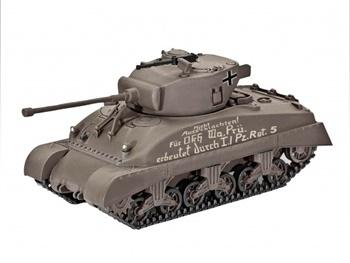 Sherman M4A1, kit de plástico escala 1/72.