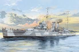 HMS York. Kit de plástico escala 1/350.