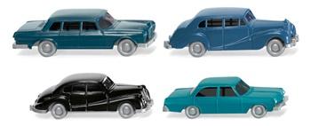 Set 4 coches.