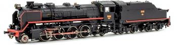 Locomotora Vapor 141F-2332 RENFE MIKADO con precalentadores, época III