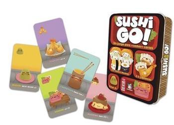 SUSHI GO. Un juego para comer cartas.