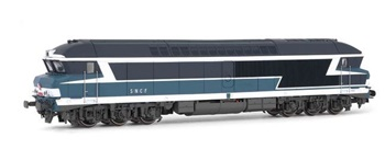 Locomotora Diesel SNCF CC 72023, época IV.