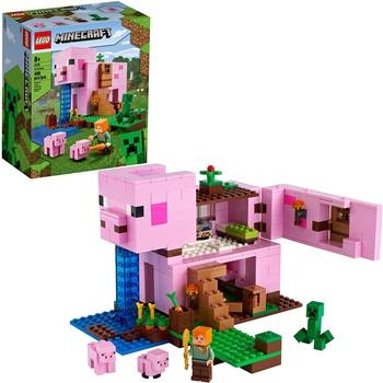 MINECRAFT: The pig house.