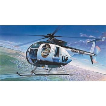 Helicoptero de la Policia 500D. Kit plástico escala 1/48.
