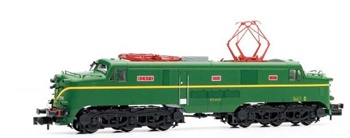 Locomotora eléctrica 277 RENFE 011-3, época IV.