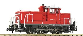 Locomotora diesel clase 363 DB AG, época V-VI.