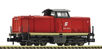 Locomotora diésel serie 2048 OBB, escala V.