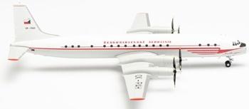 CSA Czechoslovak Airlines Ilyushin IL18. Escala 1/200.